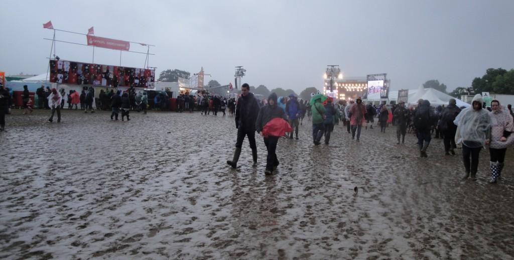 Festival onweer