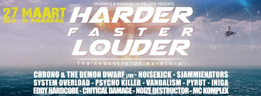 HarderFasterLouder
