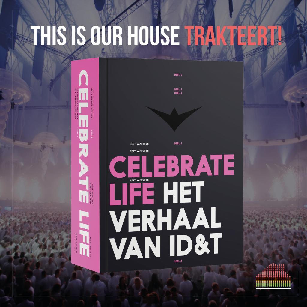 Winactie Celebrate Life boek ID&T
